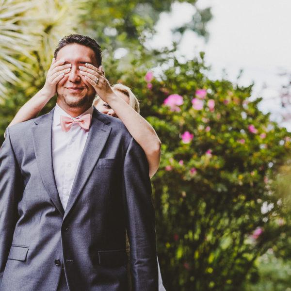 Wedding First Look / Primera Vista / Fotógrafos Bodas Colombia